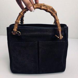 Gucci Bags - Gucci RARE Vintage Bamboo Handle Bag